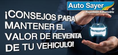 Consejos para mantener el valor de reventa de tu vehículo!