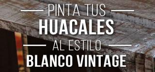 Huacales estilo Vintage
